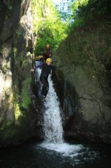 Descenso de Barranco Bausen - Accion y Eventos