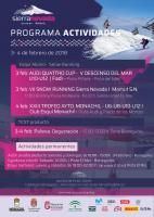 Programa de actividades del 3-4 de febrero en Sierra Nevada