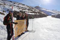 Sierra Nevada habilita en la pista El Águila el primer itinerario de esquí de montaña de la estación
