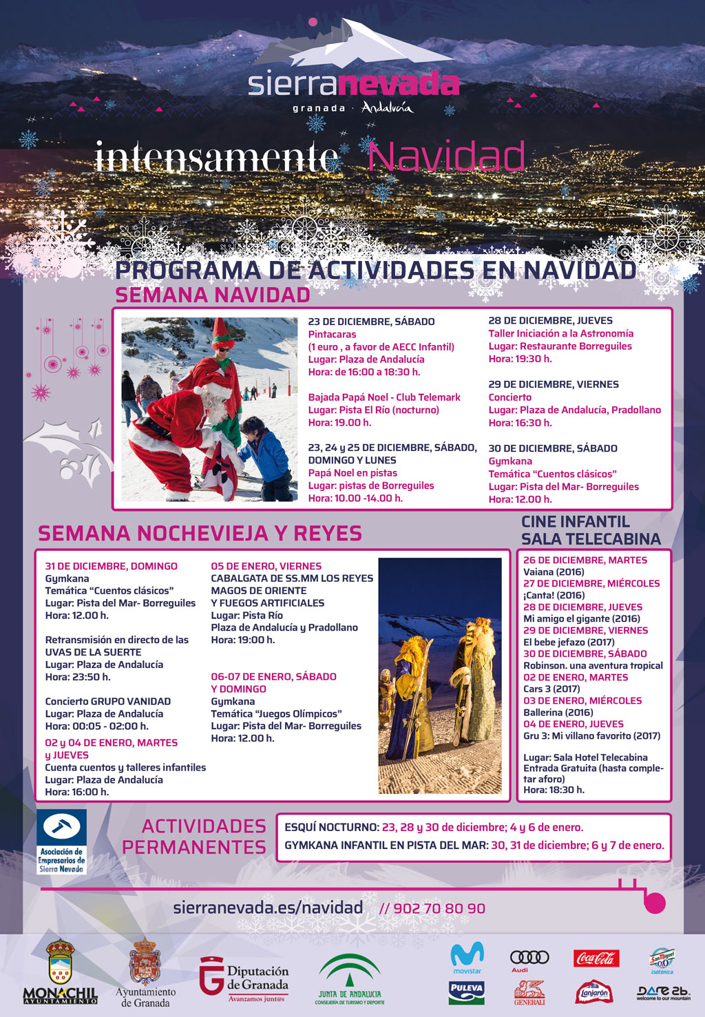 Sierra Nevada Accion y eventos