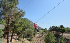 Tirolina - Acción y Eventos
