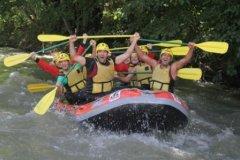 Rafting Rio Garona - Accion y Eventos