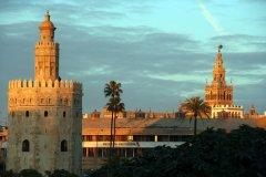 Torre del Oro y Giralda - Acción y Eventos